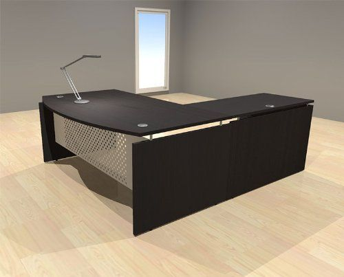 Swell 3Pc L Shape Modern Contemporary Executive Office Desk Set Home Interior And Landscaping Synyenasavecom