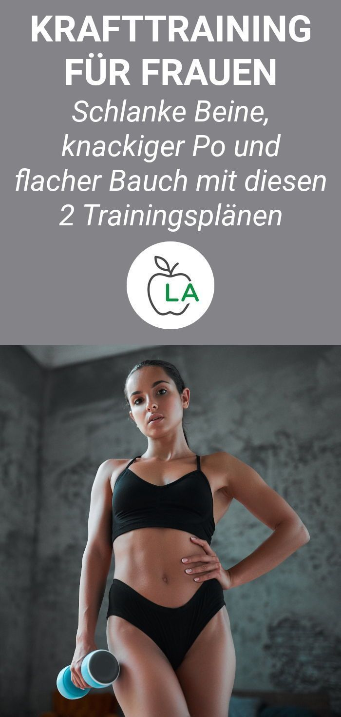 Photo of Strength training for women – the complete instructions with training plan