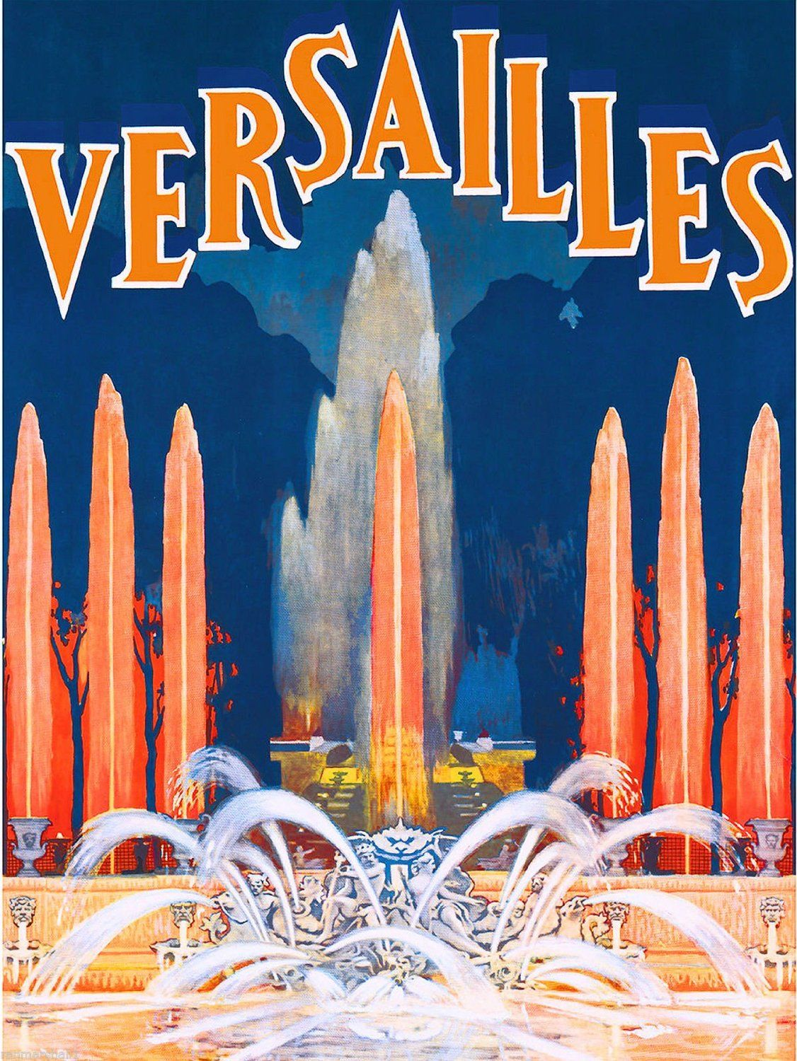 Amazon com : Versailles France Fountain French Europe