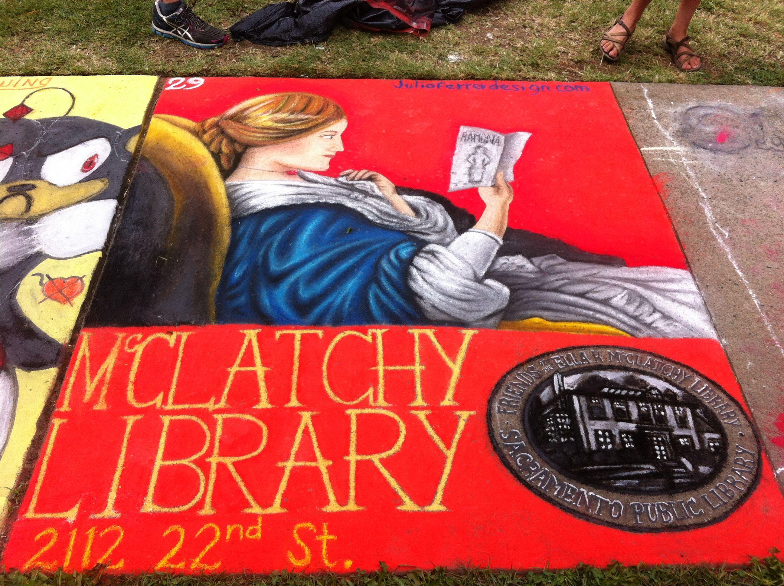 Chalk it up sacramento sidewalk chalk art sidewalk