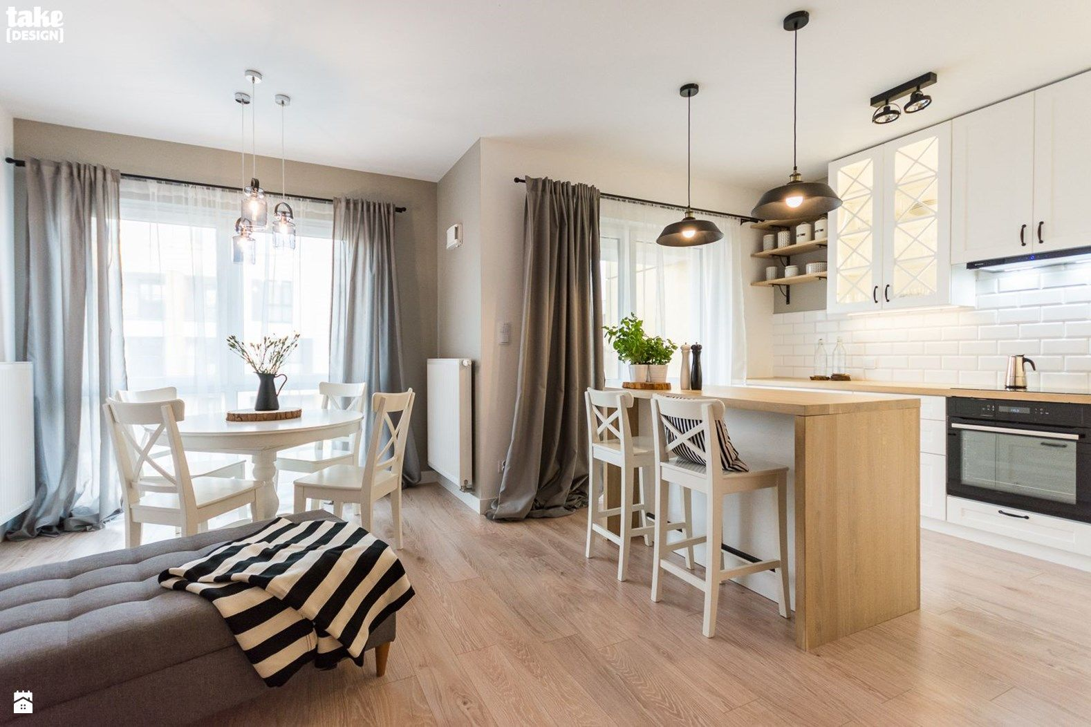 Kuchnia styl Skandynawski - zdjęcie od TAKE [DESIGN] - Kuchnia ...
