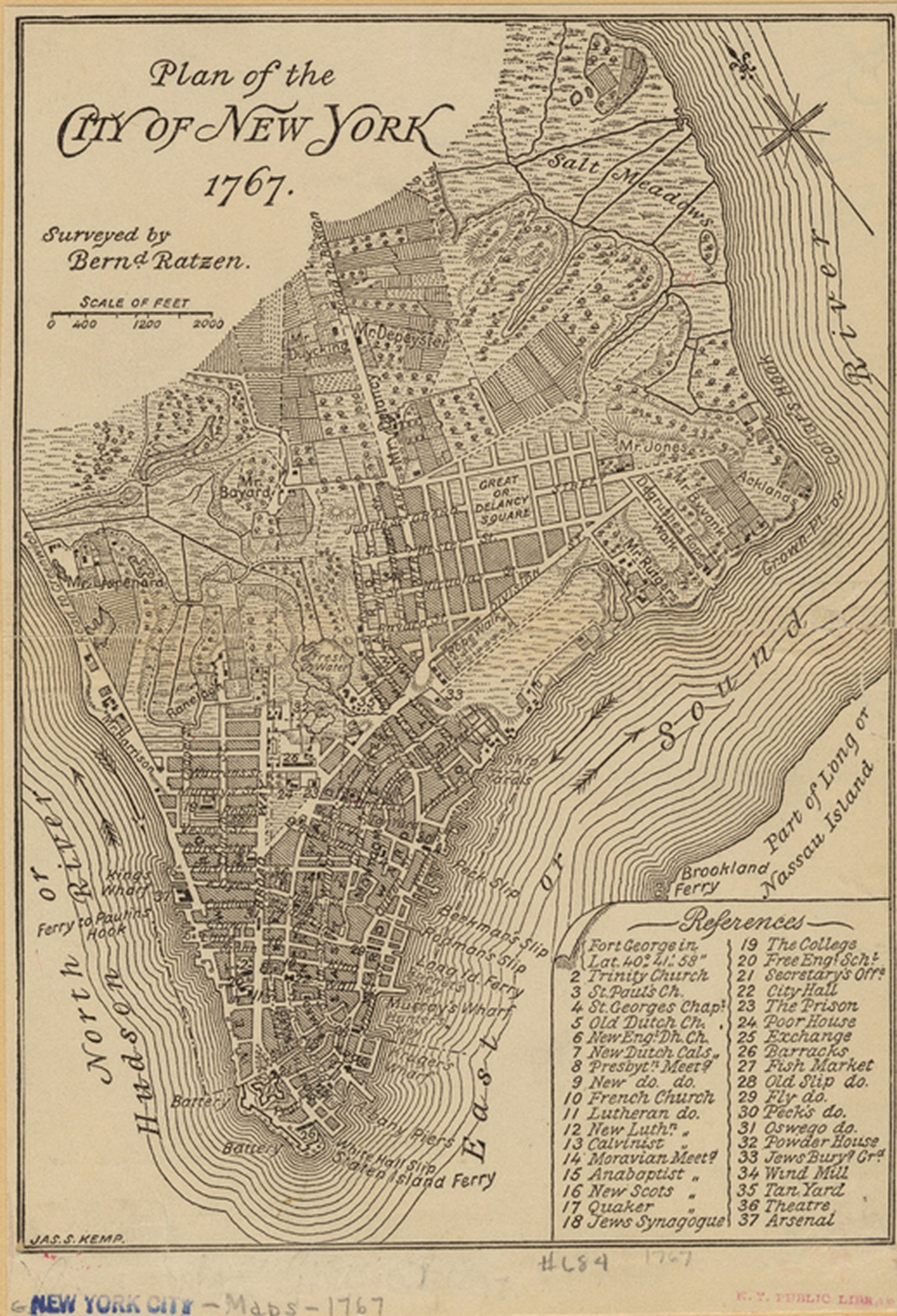Free Printable Map Of New York City.A Walking Tour Of 1767 New York Old New York Pinterest Map