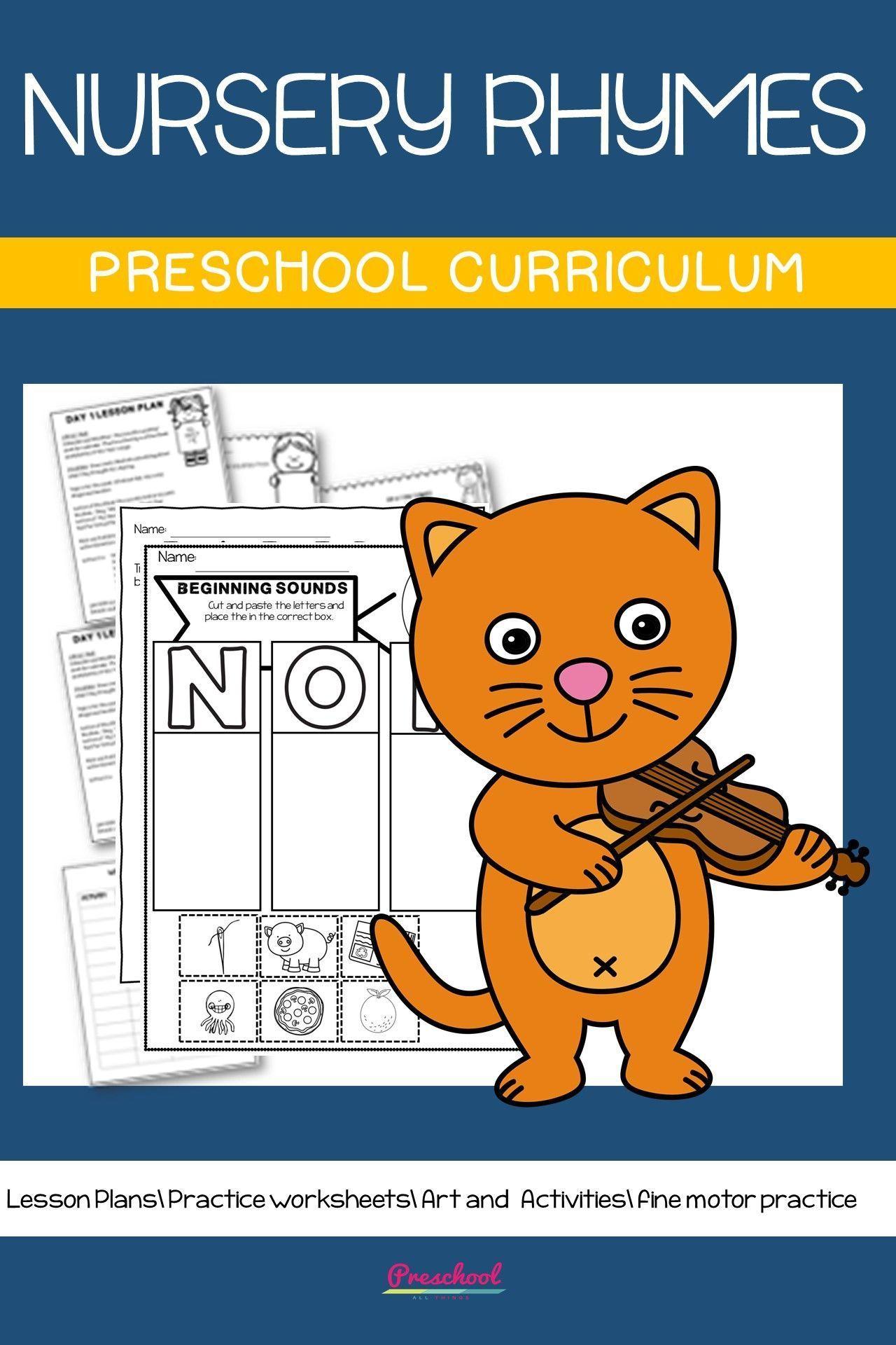 Nursery Rhyme Preschool Theme In