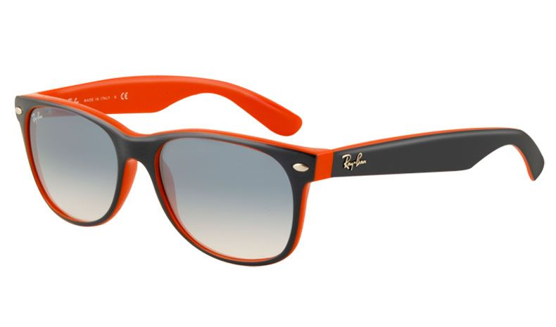 Ray Ban 2132 New Wayfarer Sunglasses Blue Orange Light Blue Gradient Rxsport Black Wayfarer Sunglasses Wayfarer Sunglasses Ray Bans
