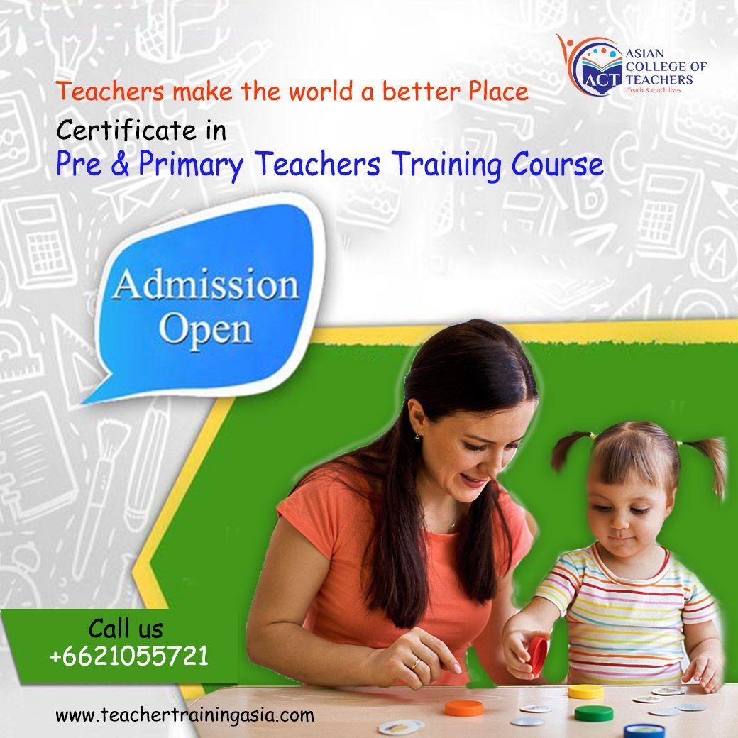 teacher teaching dreams training courses