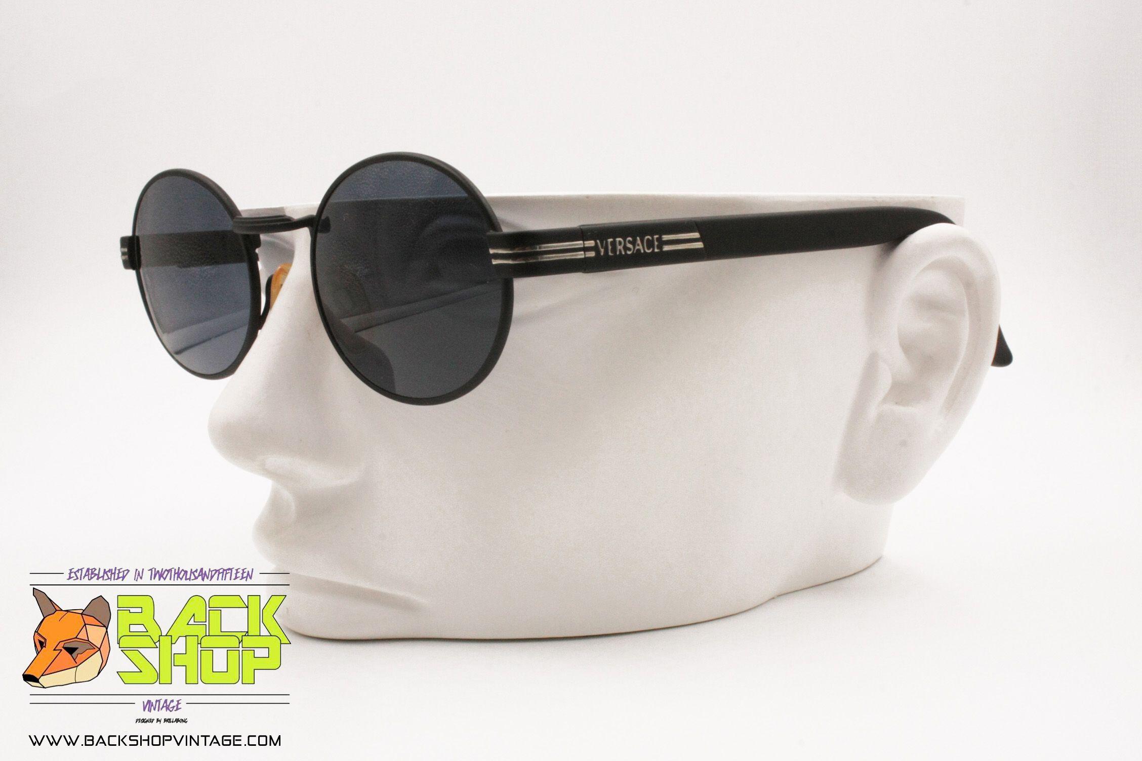 Gianni Versace Mod S85 Col 028 Vintage 90s Sunglasses Eyewear New Old Stock Sunglasses Eyewear Sunglasses Sunglasses Vintage