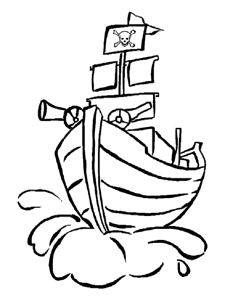 Pirate ships coloring pages az coloring pages - Month Of Poetry Pirate Ships Children S Poem Mop14