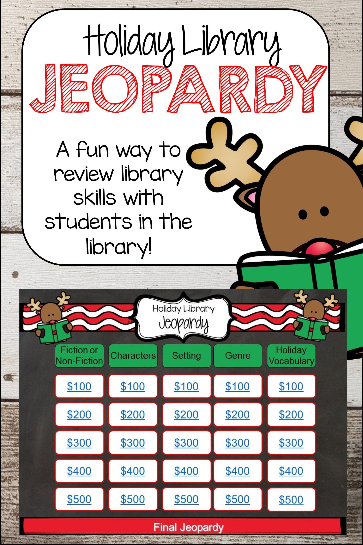 Holiday Library Jeopardy