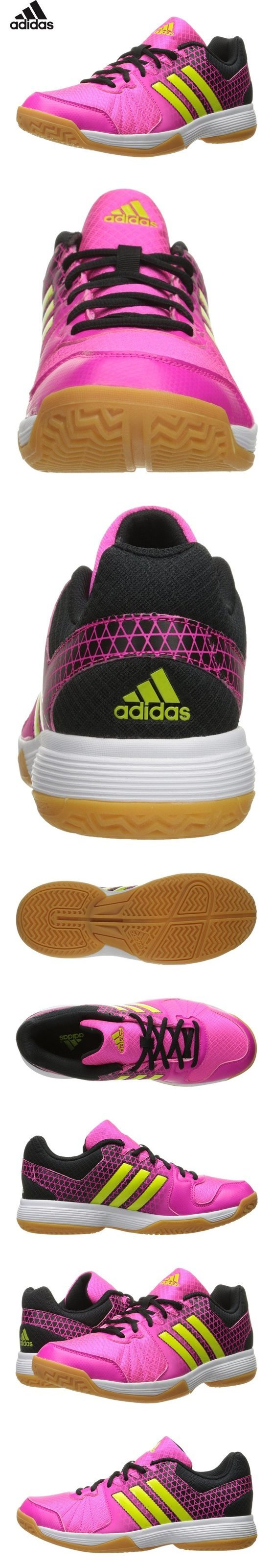 Adidas Performance Women S Ligra 4w Volleyball Shoe Shock Pink Semi Solar Slime Black 10 M Us Volleyball Shoes Women Shoes