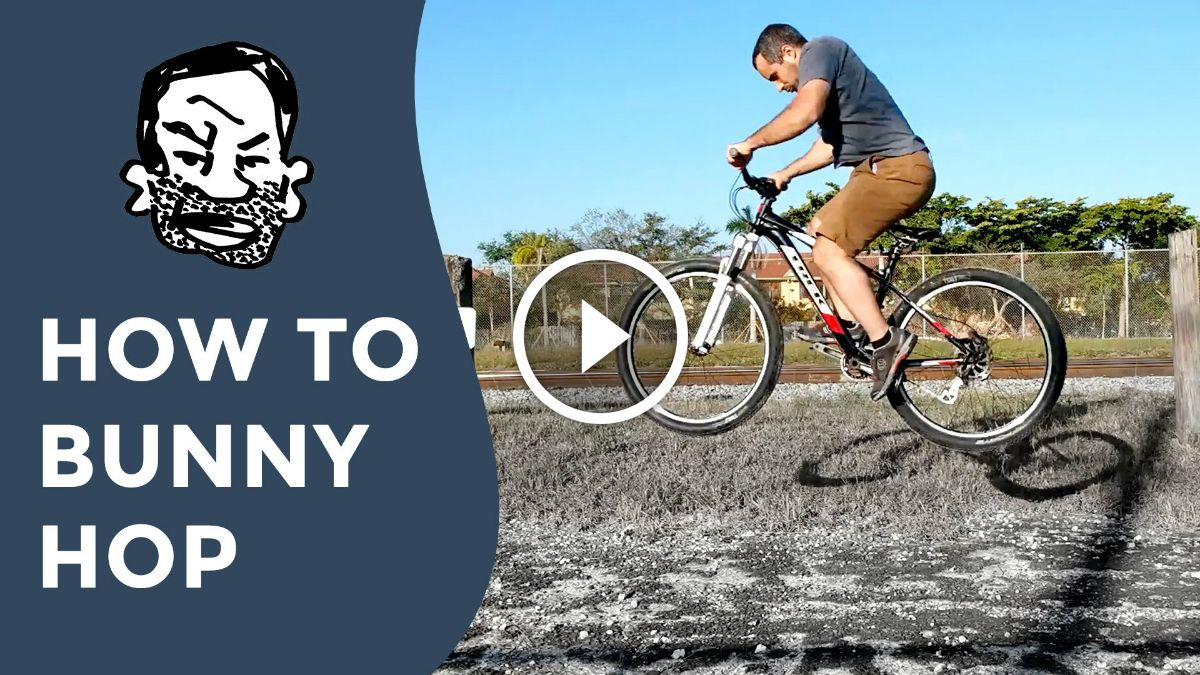 Video How To Bunny Hop A Mountain Bike For Beginners Mountain