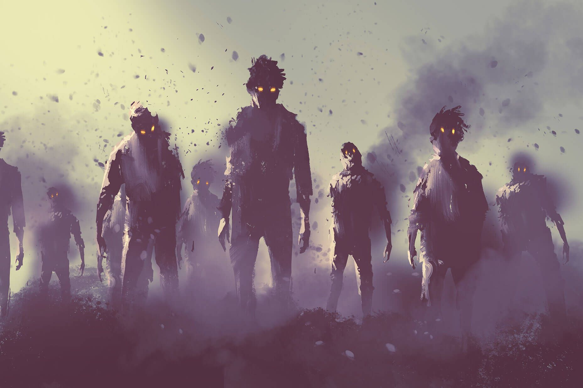 10 Spooky Designs To Get You Inspired This Halloween In 2021 Zombies Apocalypse Art Zombie Wallpaper Zombie