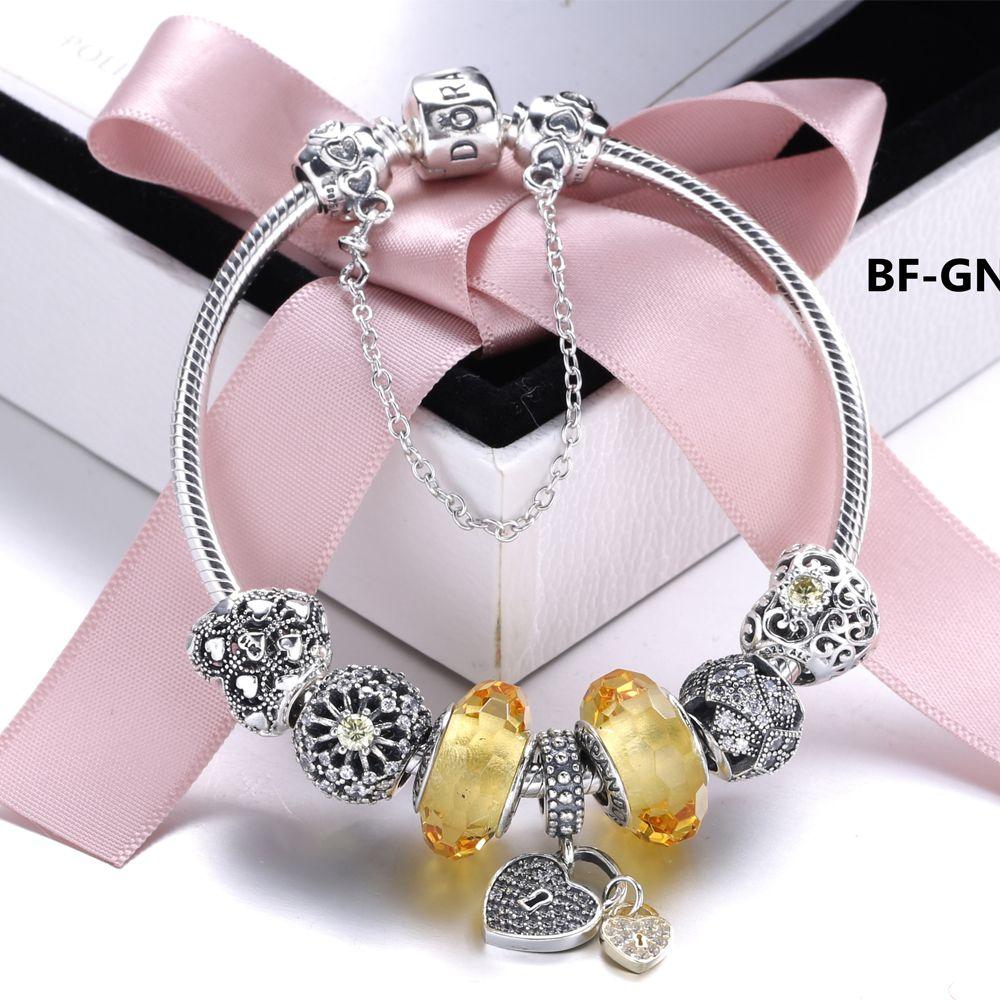 Snb womenus fashion make you more beautiful pandora bracelet