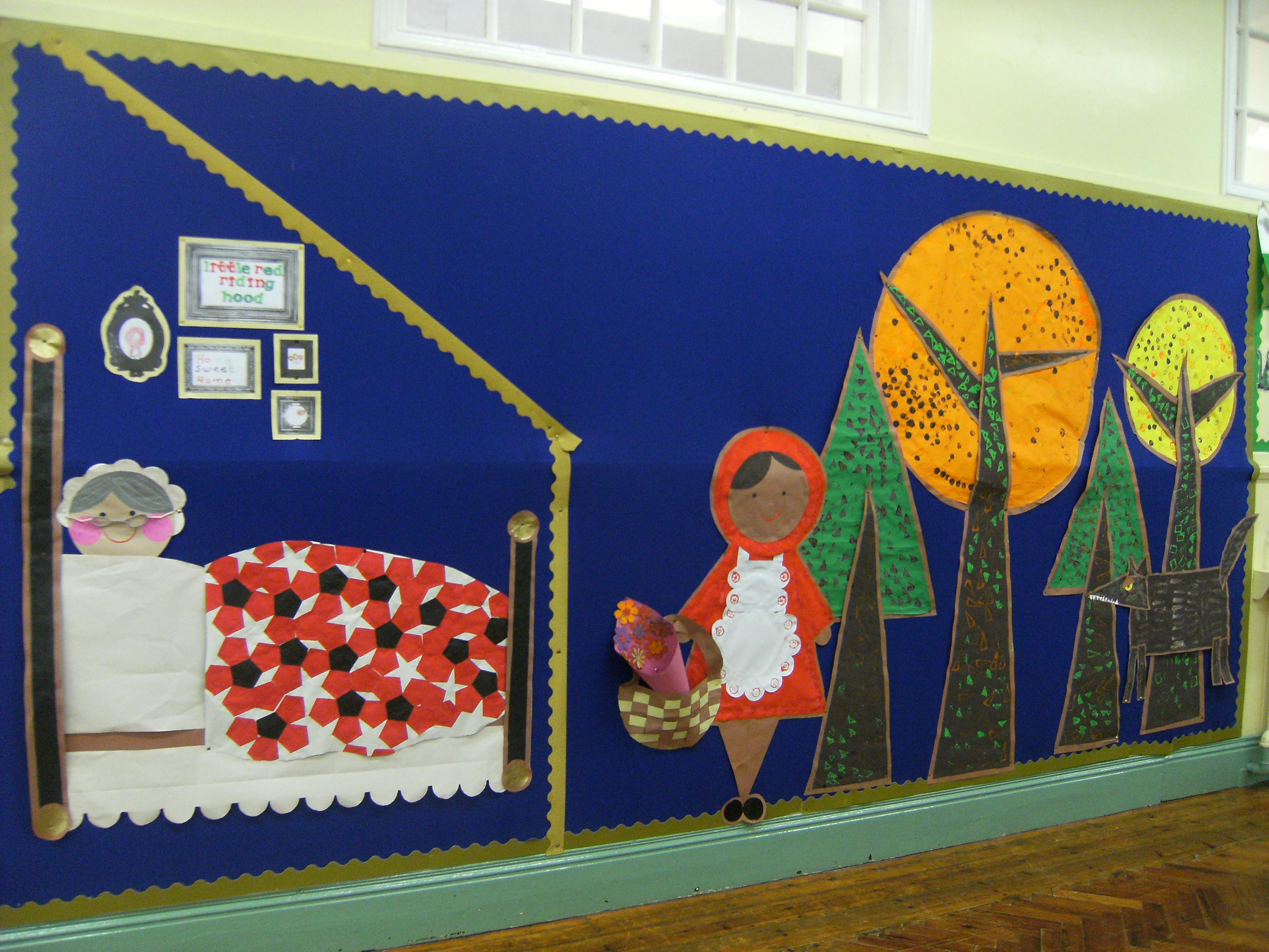 red riding hood display using shapes foundation phase made red riding hood display using shapes foundation phase made the children grandma