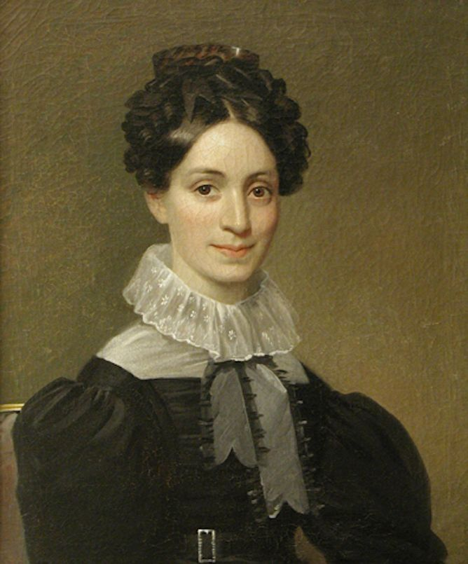 Catherine Johnson Pierce, 1826-28 Oil on canvas New England, USA