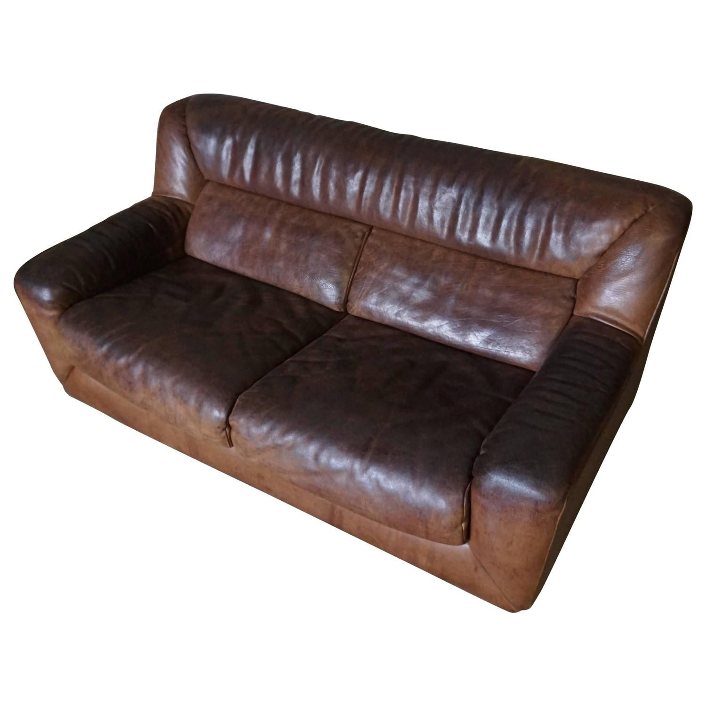 Two Seater Buffalo Hide Sofa By De Sede