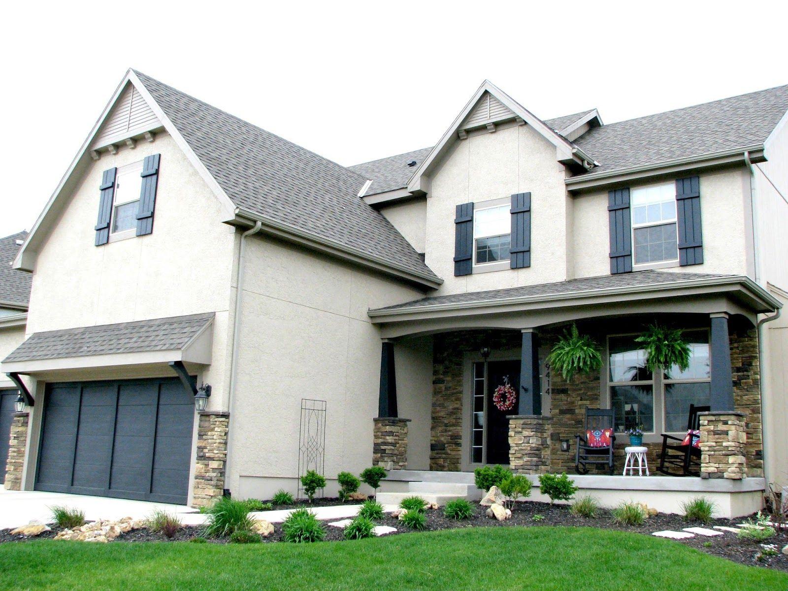Exterior paint colors base color sw pavilion beige for Exterior house accents