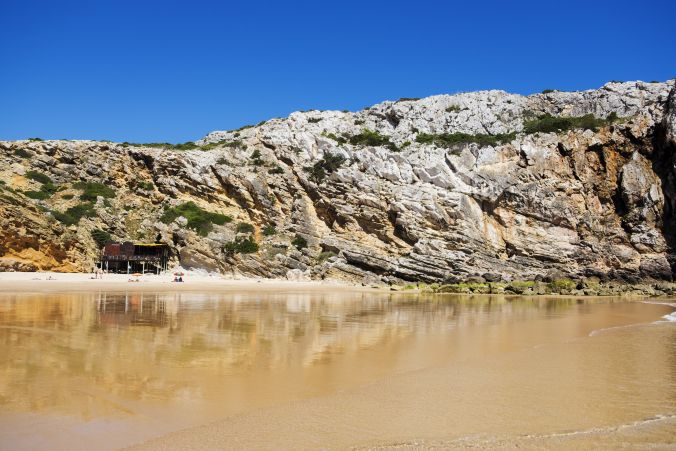 Praia Do Beliche, Sagres. One of the most gorgeous beaches in Algarve, however risky as it has strong currents.