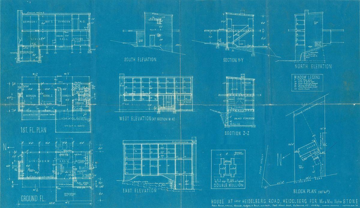 Stone House (1953) revisited | Robin Boyd | Pinterest | Stone houses ...