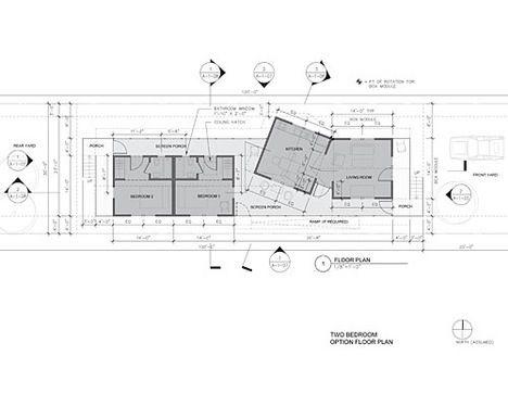 Gehry Designs Shotgun House for New Orleans | Shotgun house ...