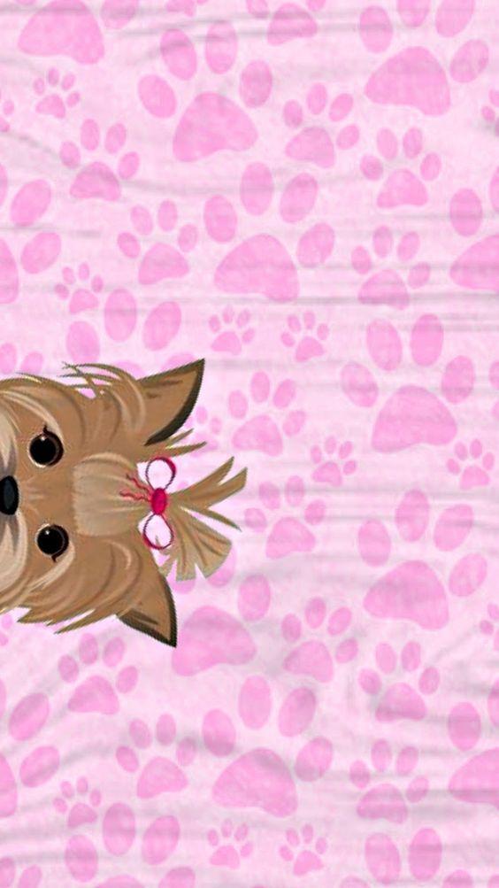 Pin By Elvia Santiesteban On Wallpaper Dog Wallpaper Iphone Pink Wallpaper Iphone Dog Wallpaper