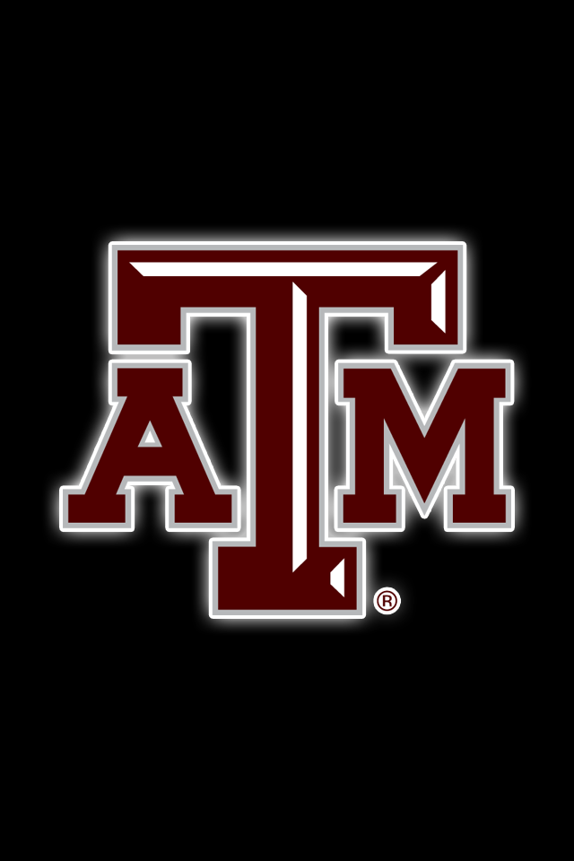 Get A Set Of 12 Officially Ncaa Licensed Texas A M Aggies Iphone Wallpapers Sized Precisely For Any Model Of Iph Texas A M Logo Texas A M Iphone Wallpaper Size