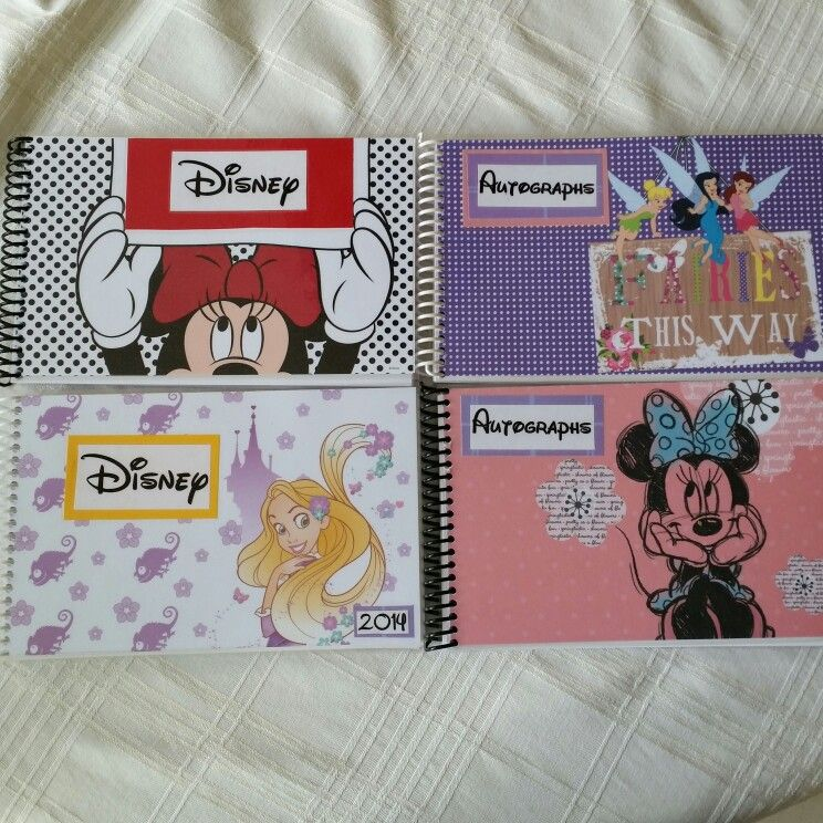 Make your own autograph books. I bought a pack of Disney
