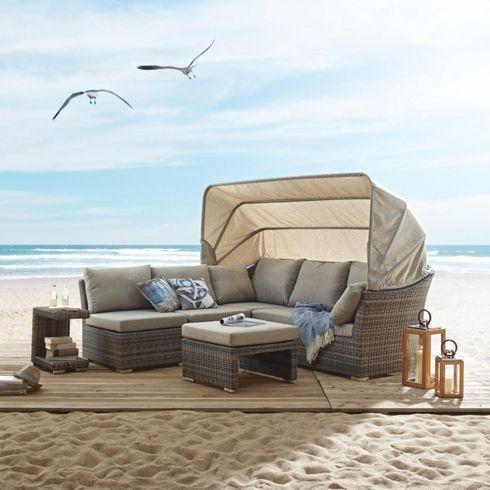 loungegarnitur palma gartenm bel produkte coastal living pinterest gartenmoebel m max. Black Bedroom Furniture Sets. Home Design Ideas