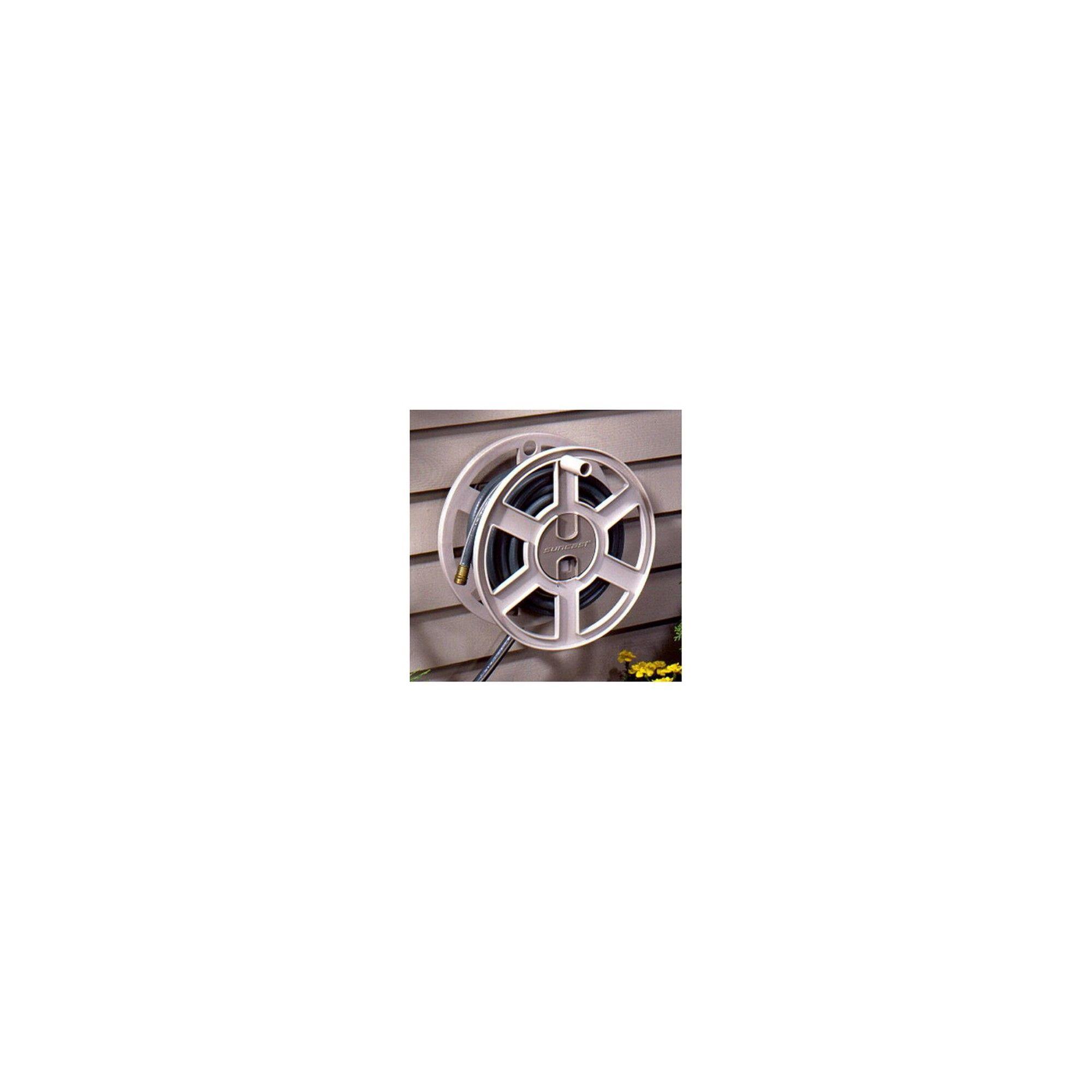 Suncast SWA100 100 Foot Wall Mount Garden Yard Hose Reel Side Winder 3 Pack