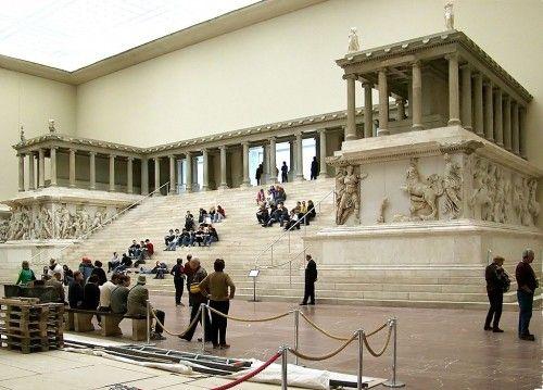 Pergamon Berlin Ruinen Und Tempel