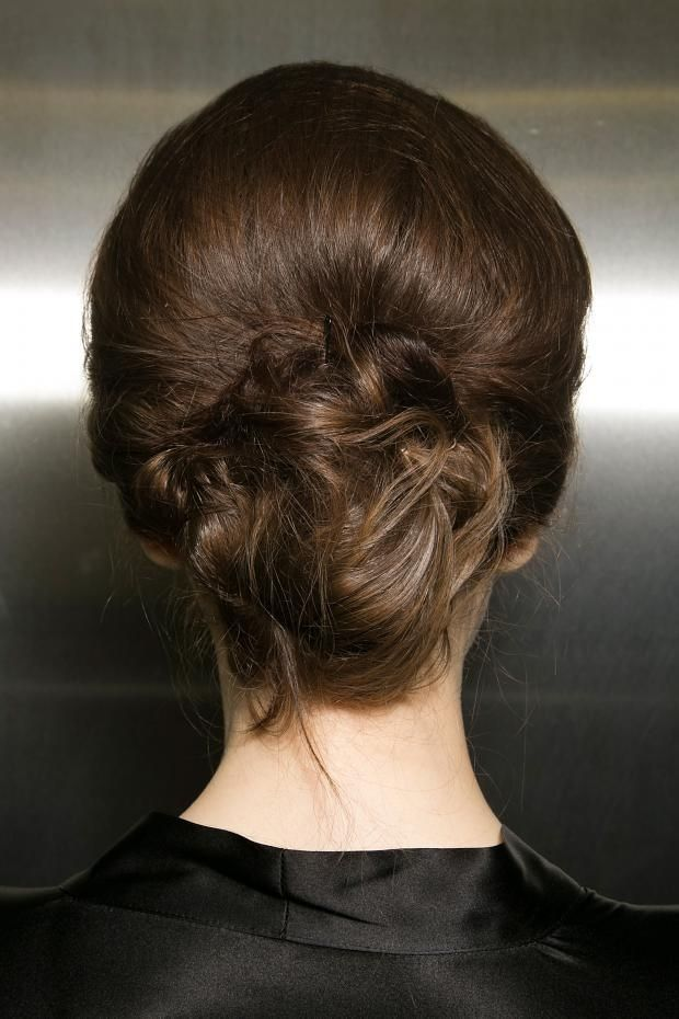 Dolce and Gabbana Fall 2013 Hairstyle: Italinal Princess Chignon