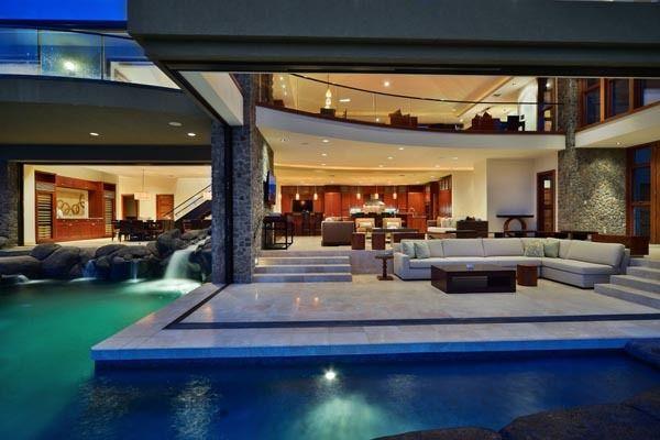 Luxury House Pool luxury pools | architecture, exterior, house, luxury, pool