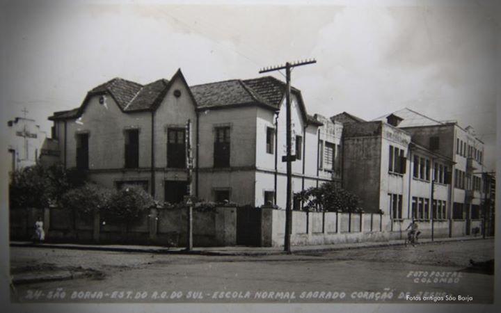 Colégio Sagrado Coração de Jesus - São Borja-RS (antiga estrutura)