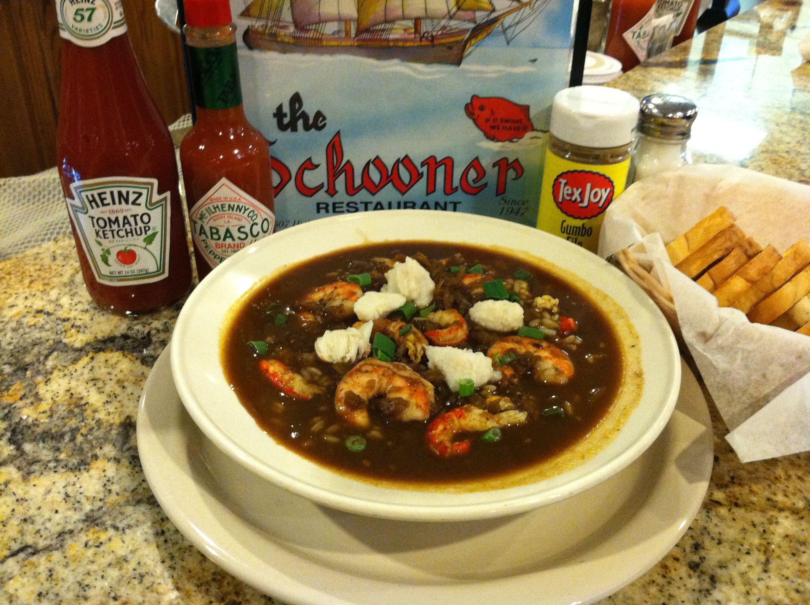 The Schooner Was A Hit At Taste Of Gumbo Dining Menu Food Hot Spicy