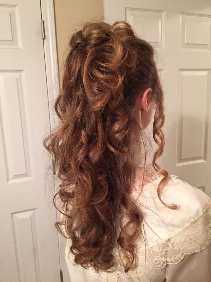 An 1800s hairstyle!