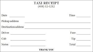 Taxi Bills Format Google Pretrazivanje Receipt Template Invoice Template Invoice Template Word