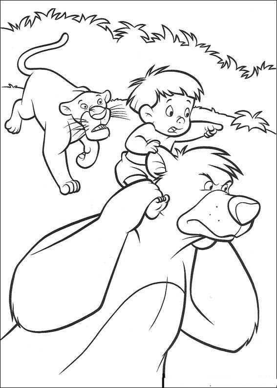Das Dschungelbuch Ausmalbilder 46 Coloring Pictures Cool Coloring Pages Coloring Pages
