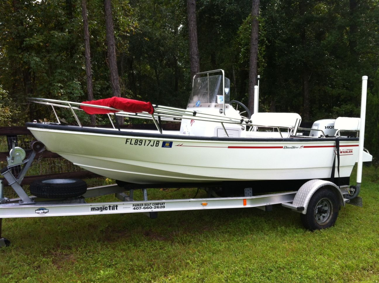 1995 Boston Whaler 15 Dauntless - Sold - The Hull Truth