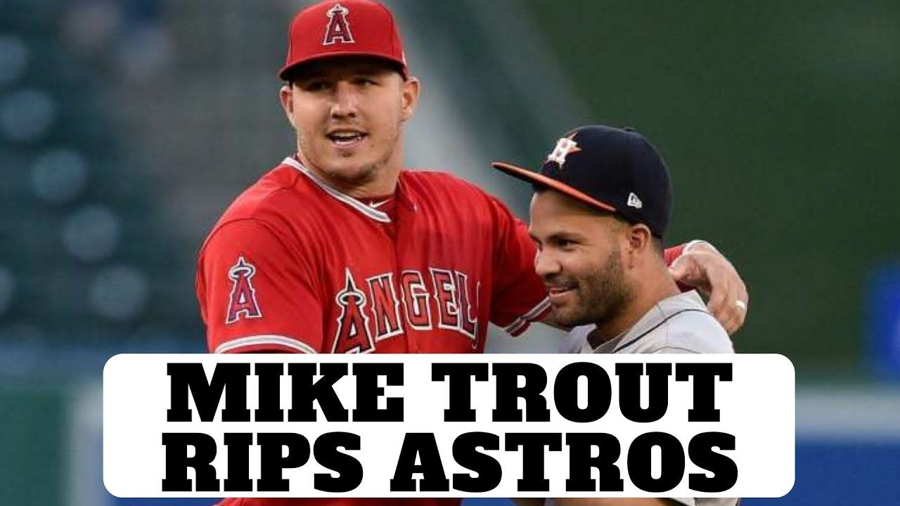 Mike Trout Rips Astros Support Our Page By Clicking The Link Below Https Www Patreon Com Antonellibaseball Buy A Ps4 And Mlb The Show 19 Ps4 Http In 2020 Mike Trout