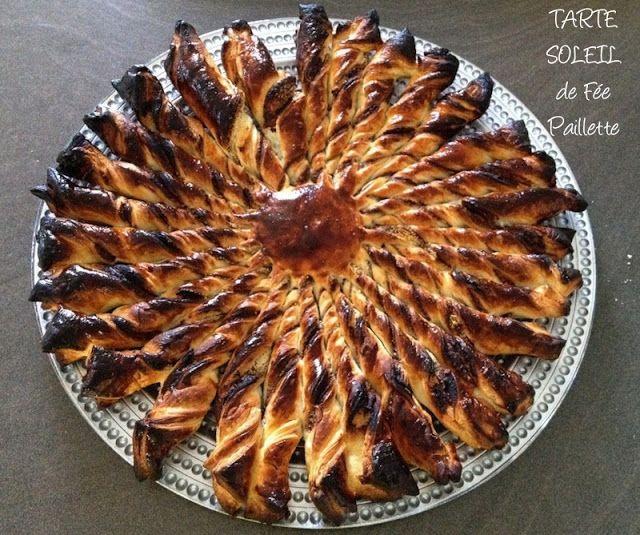 Tarte soleil nutella poudre d 39 amandes les astuces de f e for Soleil en cuisine