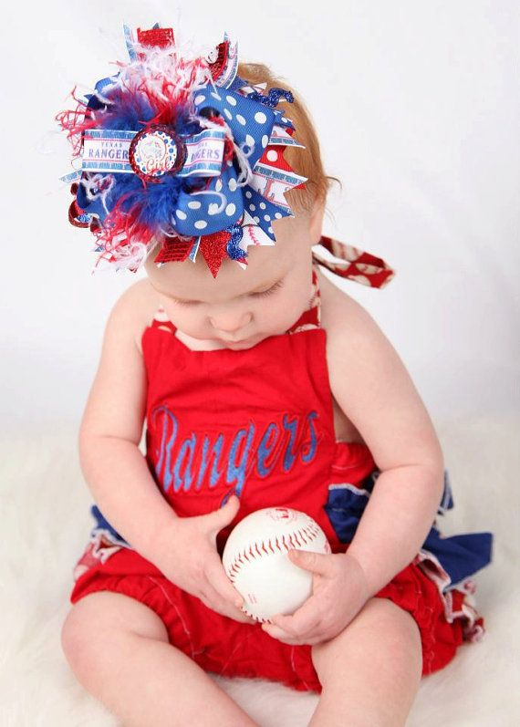 Pin By Alicia Lowery On Hair Accessories Texas Rangers Baseball Texas Rangers Baseball Fashion