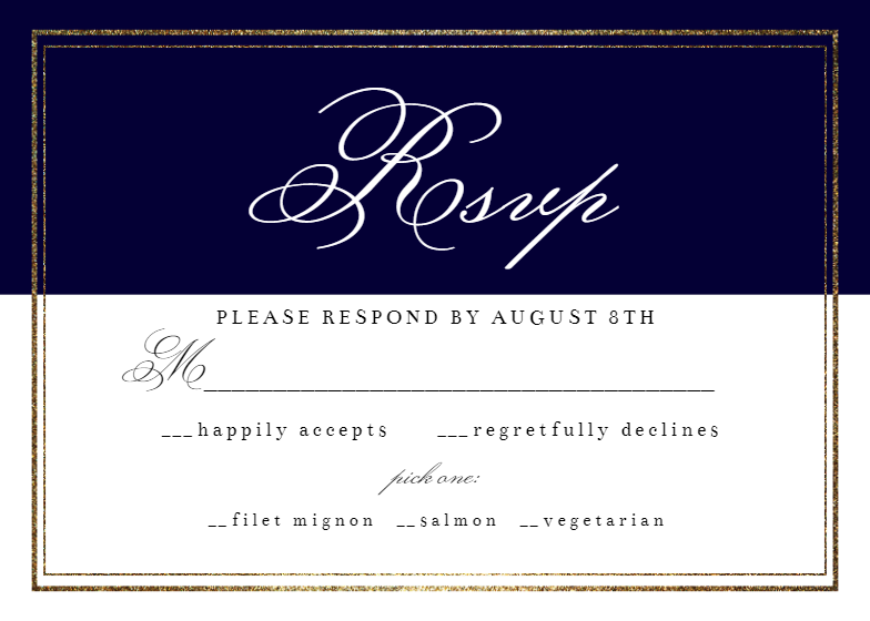 Classy Wedding Rsvp Card Template Free Greetings Island Rsvp Wedding Cards Rsvp Card Reply Cards