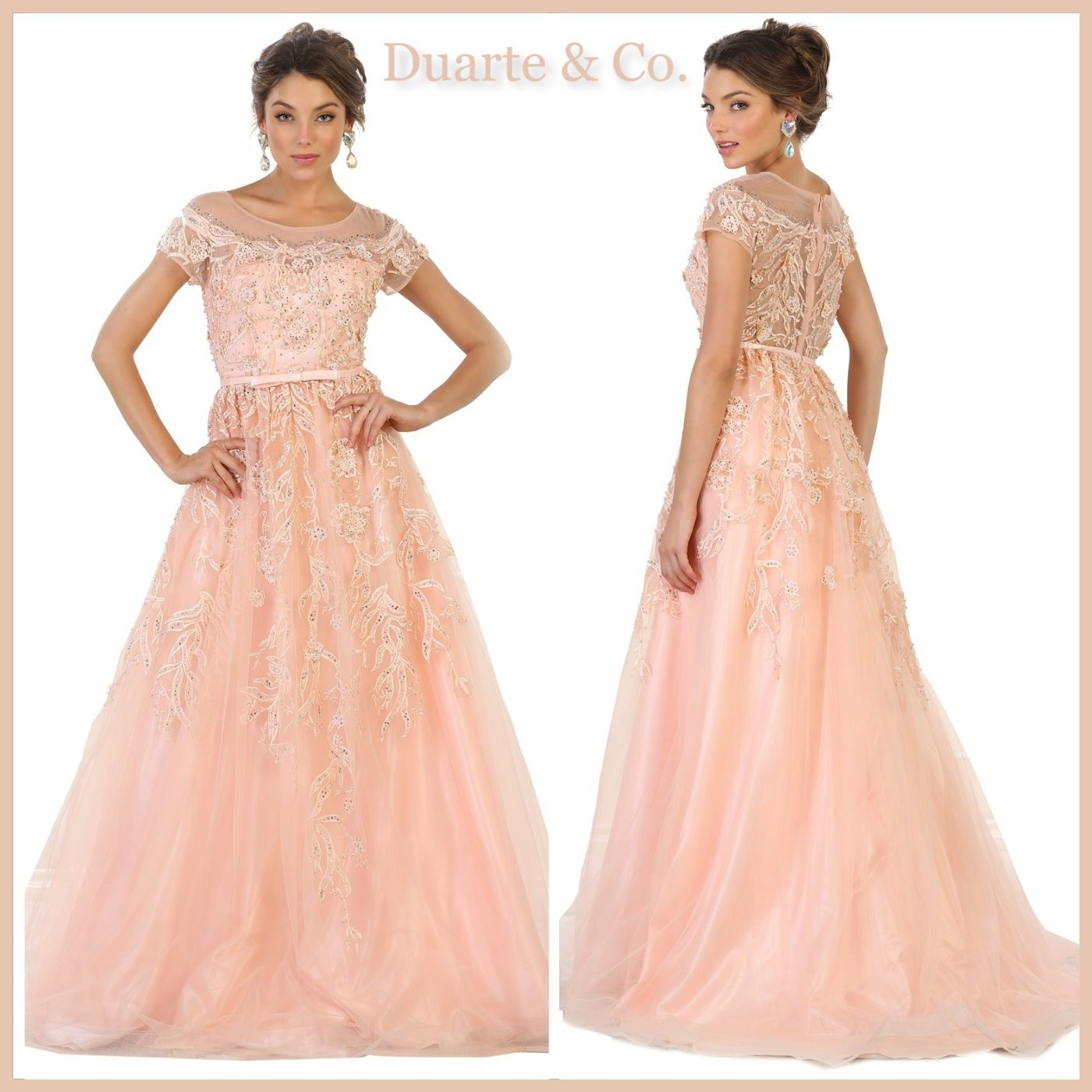Elegant party dress wplus sizes dc prom ball gowns