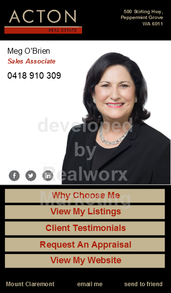 Acton Real Estate Icard By Realworx Marketing Mobile App Design And
