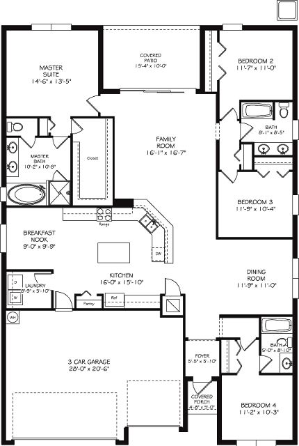 This beautiful 4 bedroom, 3 bath Kennedy model is the