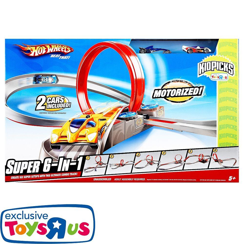 """Hot Wheels - Super 6-in-1 Set - Mattel - Toys""""R""""Us"""