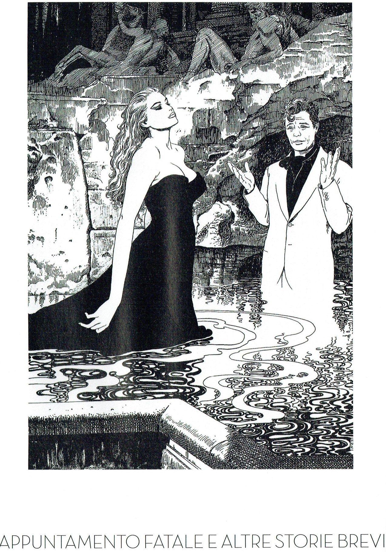Manara Maestro dell'Eros-Vol. 17, Appuntamento fatale e altre storie brevi-154