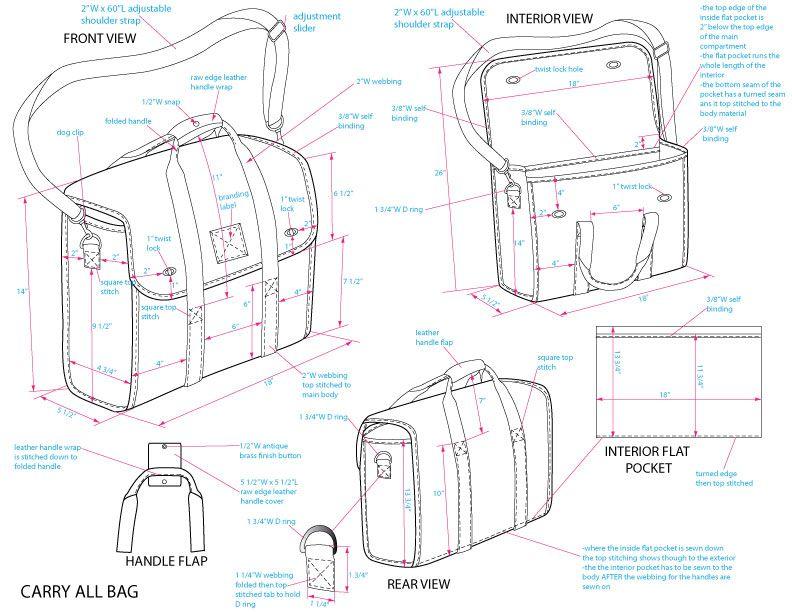 Men\'s Bag Design by Jessica Tong-Ahn at Coroflot.com | Bags, purses ...
