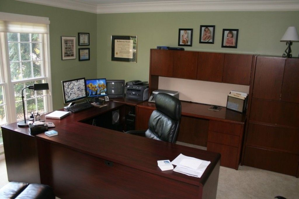 Executive Office Decorating Ideas Adept Photo On Home Office