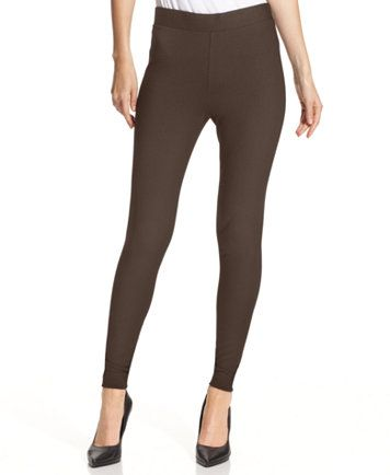 Vince Camuto Ponte-Knit Leggings - Women's Brands - Women - Macy's