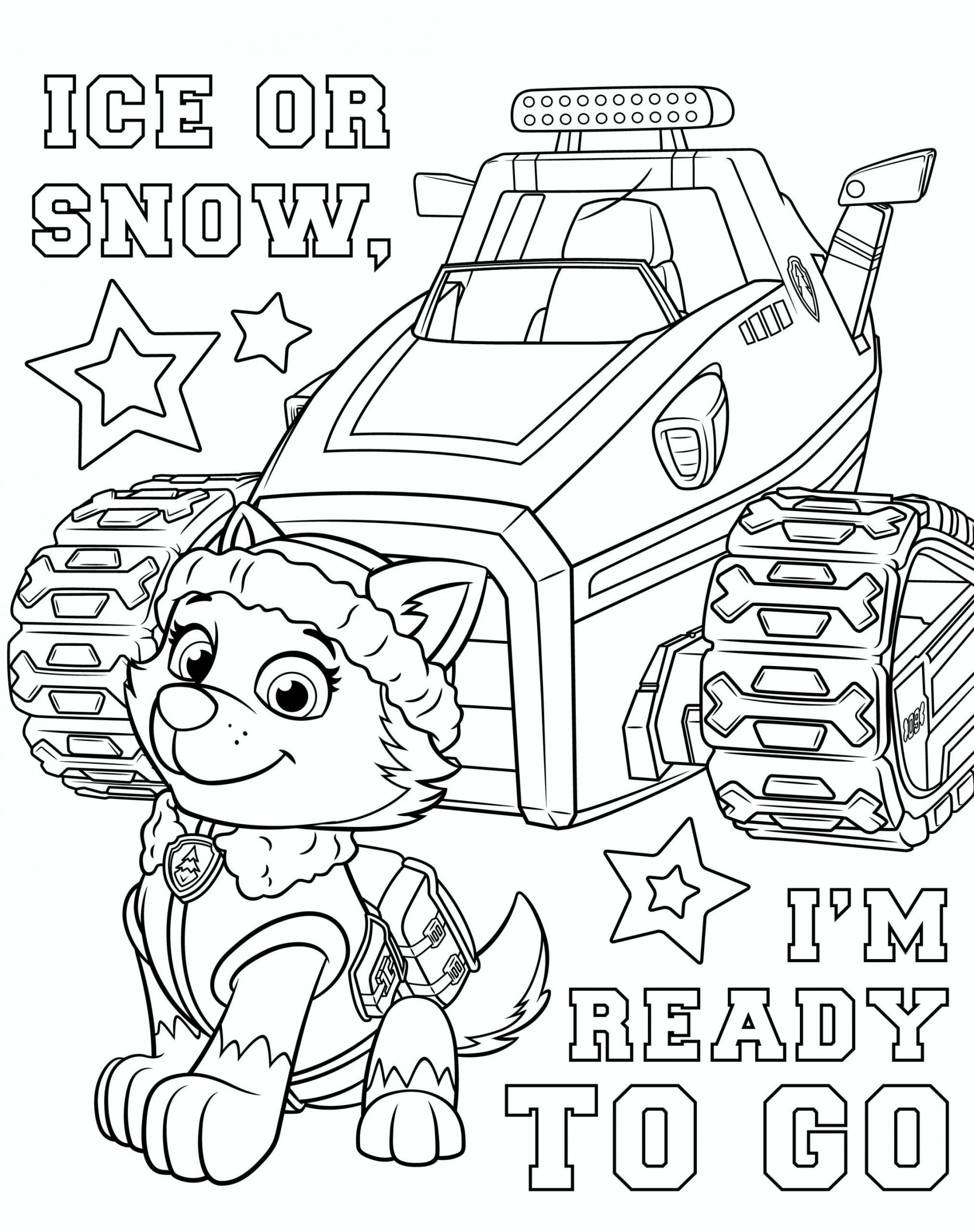 Everest Paw Patrol Coloring Page Youngandtae Com In 2020 Paw Patrol Coloring Pages Paw Patrol Coloring Cartoon Coloring Pages